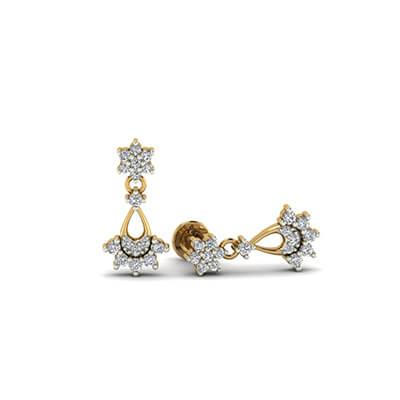 gold hoop earrings 14k