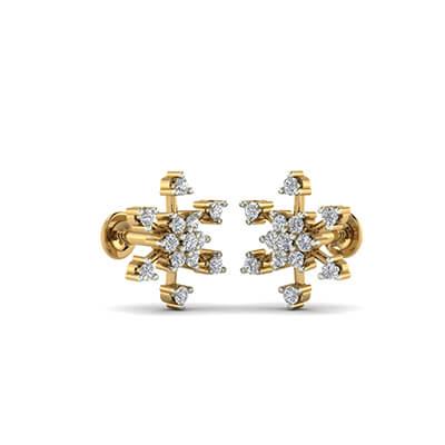 small diamond stud earrings