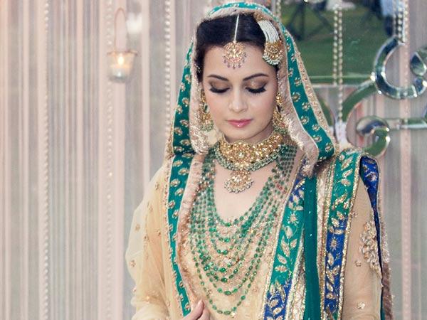 Dia Mirza's Jhoomar Jewellery