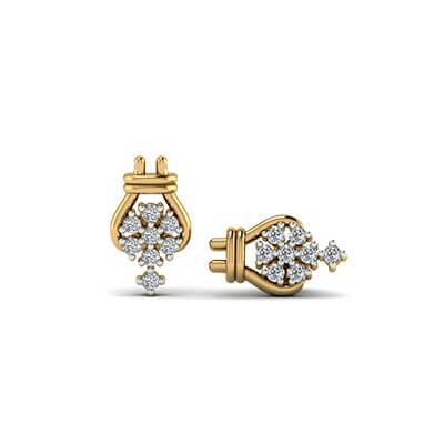 diamonds stud earrings