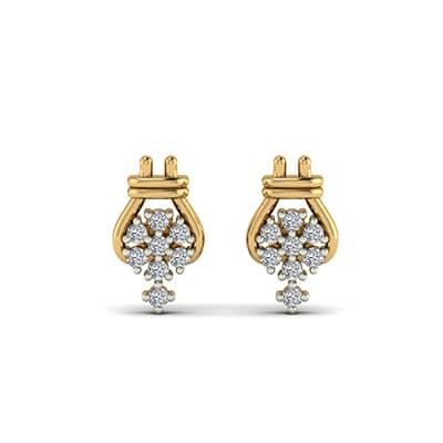 discount diamond stud earrings