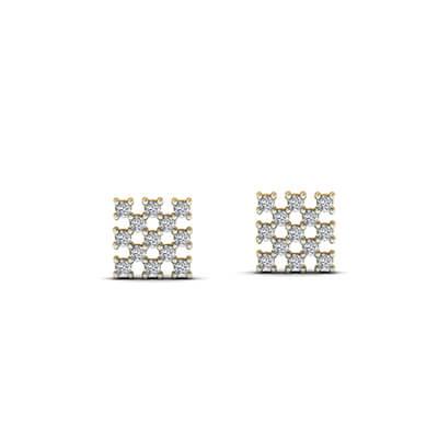 gold earrings for babies