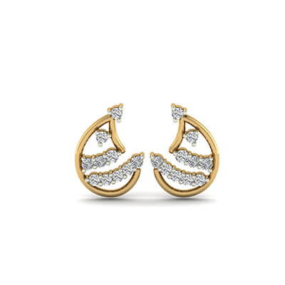 sale diamond stud earrings