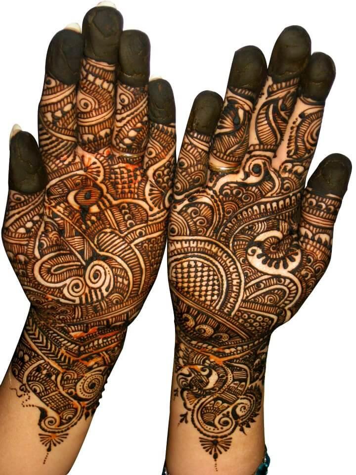 Falguni Rajpara Bridal Mehndi Designs : Mumbai s best mehndi artists you should hire for your