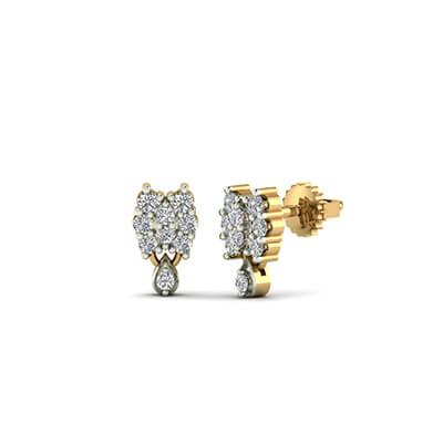 hanging gold earrings designs