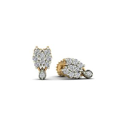 latest gold earrings designs