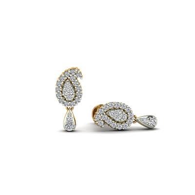 e4b228cdb96df Flawless Diamond Drop Earrings