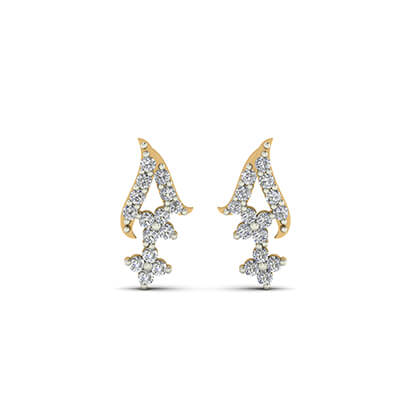 latest earring designs in gold