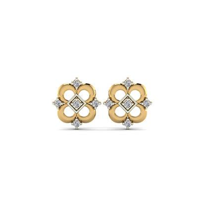 buying diamond stud earrings