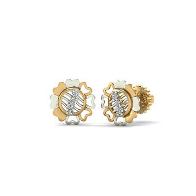 2 carat diamond studs
