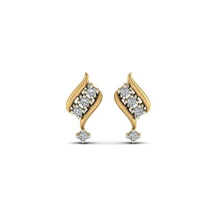 5440cc890865b Heavenly Diamond Stud Earrings