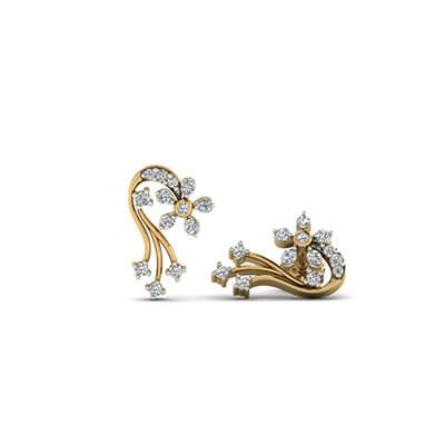 Inspirational Diamond Drop Earrings