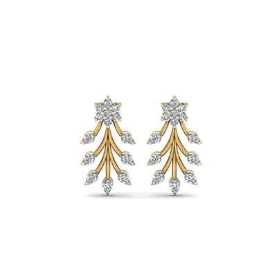 design of gold earrings