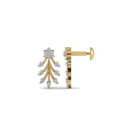 earring designs gold