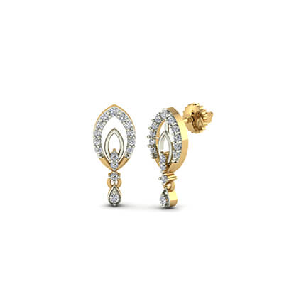 gold earrings designs