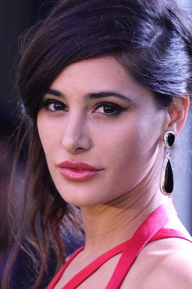 Nagris Fakhri's Gemstone Earrings