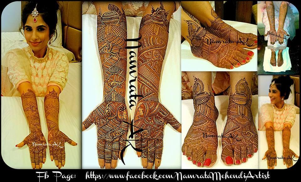 Namrata Mehendi henna artist mumabi