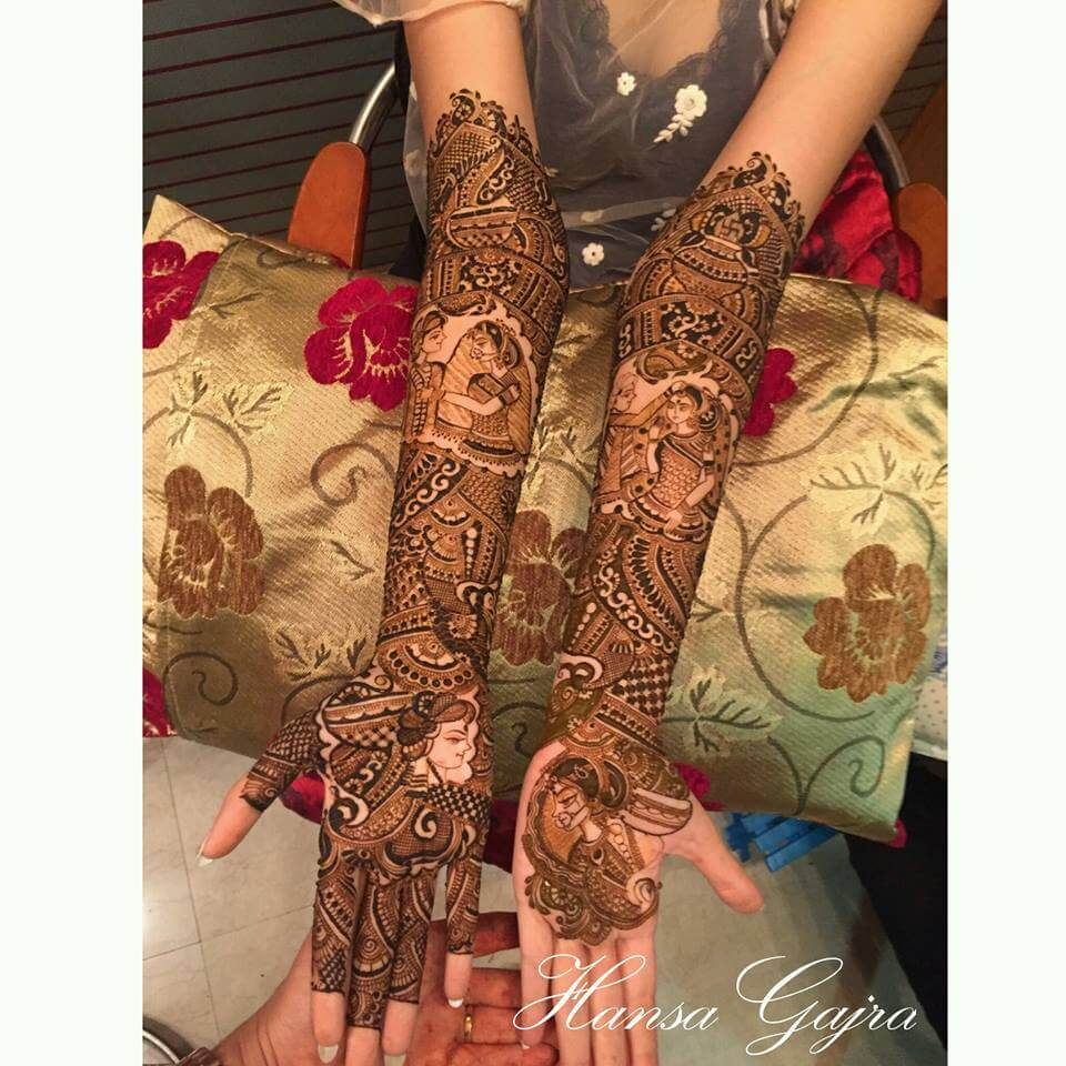 Best Mehndi Art Designs