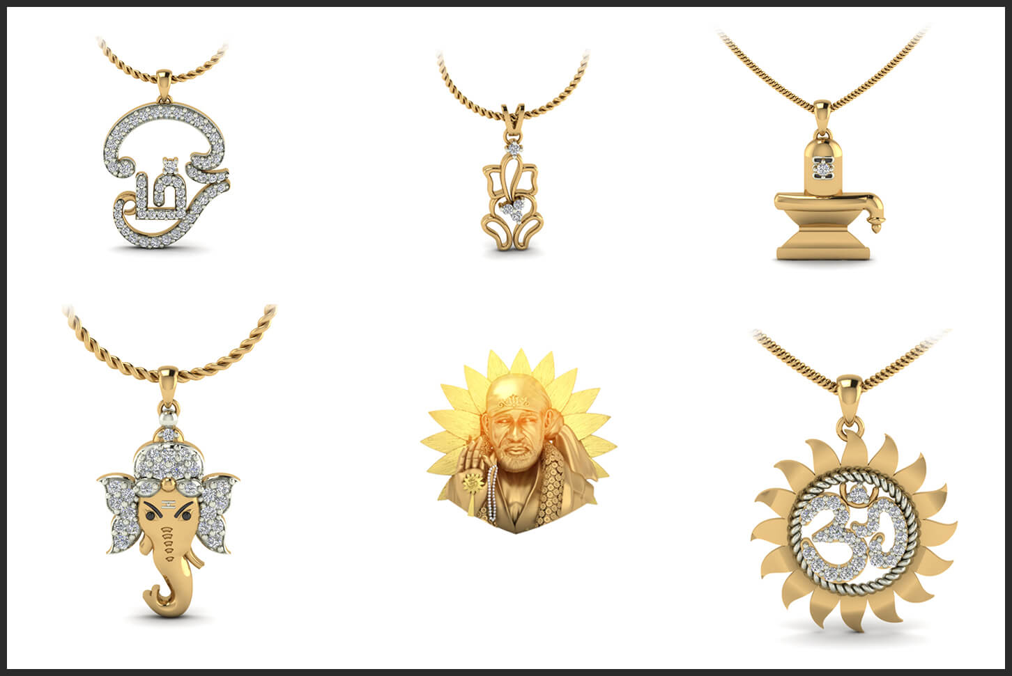 religious pendant designs that will make you stand out at