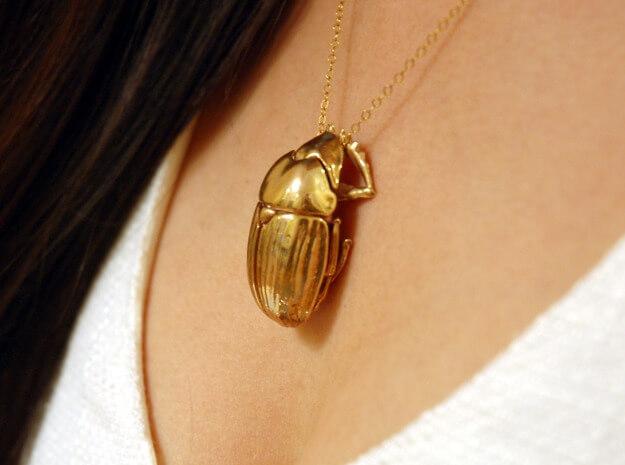 Shapeways 3d printed pendant