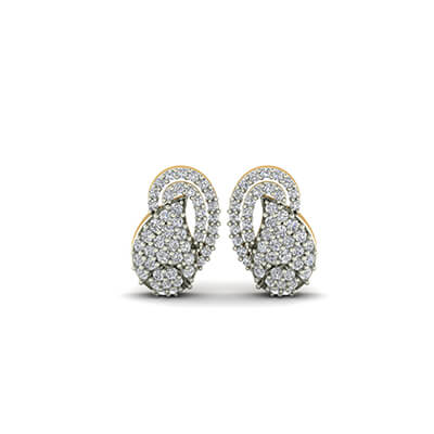 1 karat diamond earrings