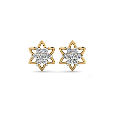 stud earrings for girls