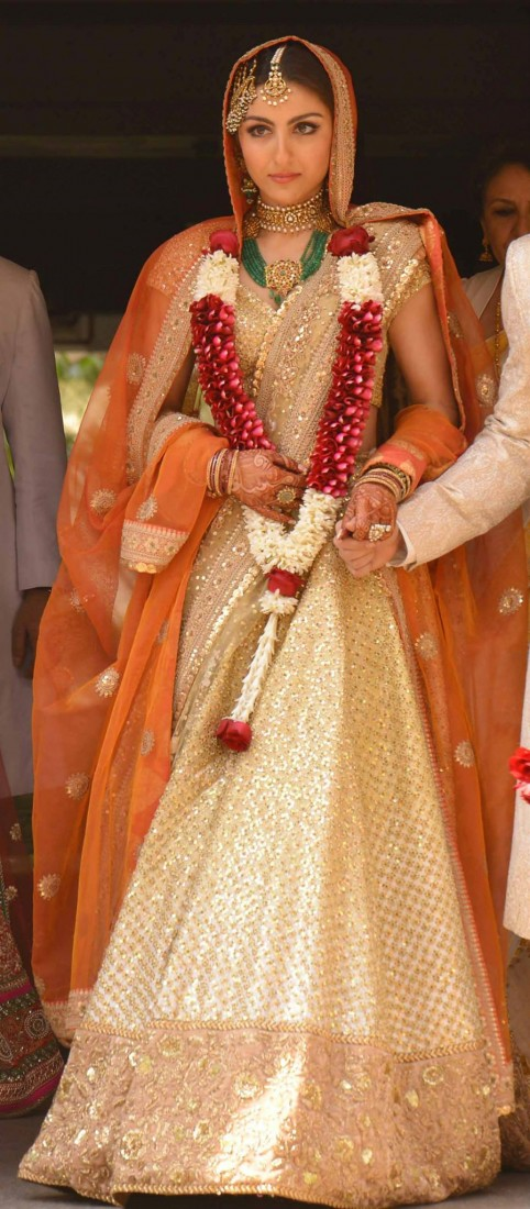 Soha Ali Khan's Wedding Jewellery