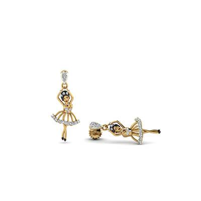 how to wear jhumka earrings