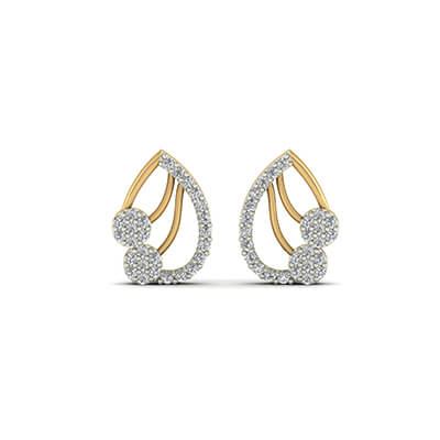 diamond earrings studs for women