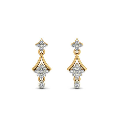latest earrings designs gold