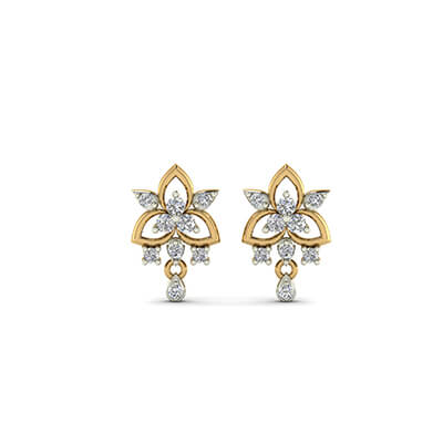 diamonds earrings studs
