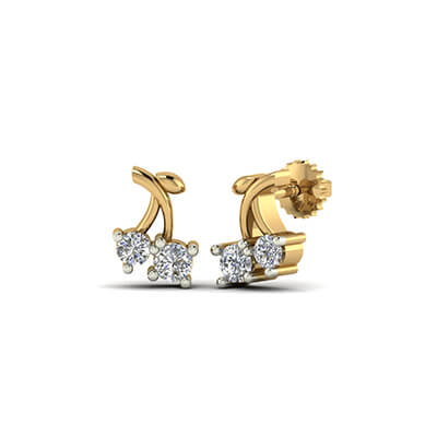 womens diamond stud earrings