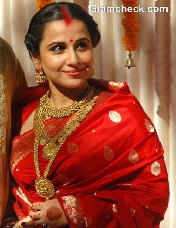 Vidya Balan's Traditional Jewellery