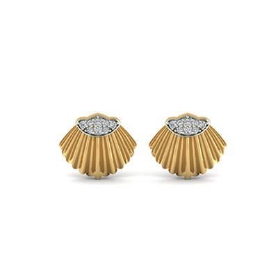 diamond earrings stud