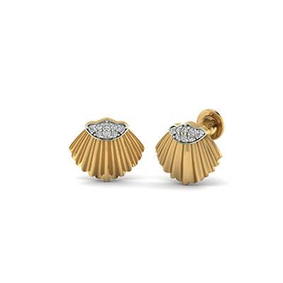 golden earrings designs