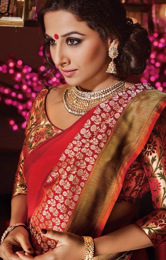 vidya-balan-Bridal Choker Necklace