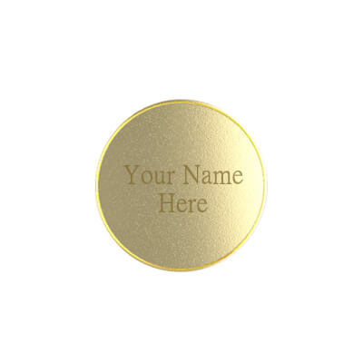 Gold Plated Customized Silver Coin (4)