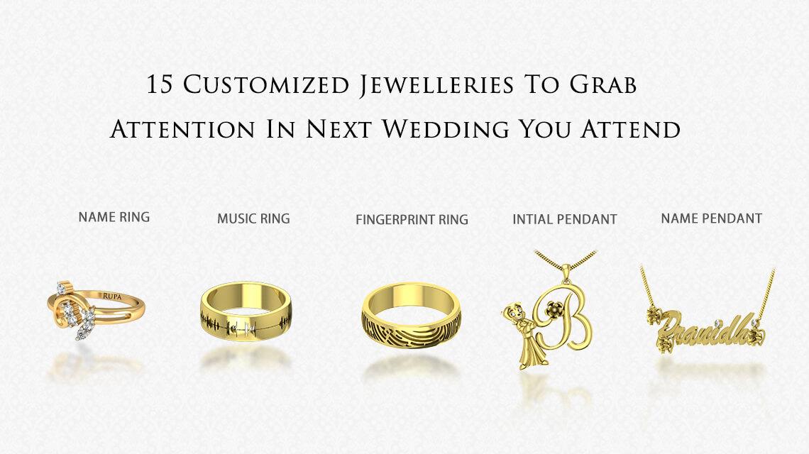 Personalised jewellery in india online