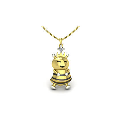 childrens gold necklace