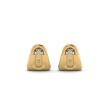 infant diamond earrings