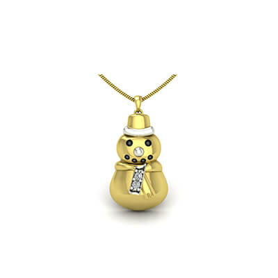 gold necklace for baby