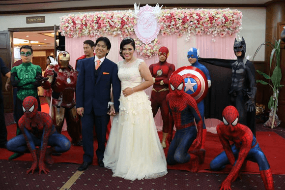 superherowedding pranks