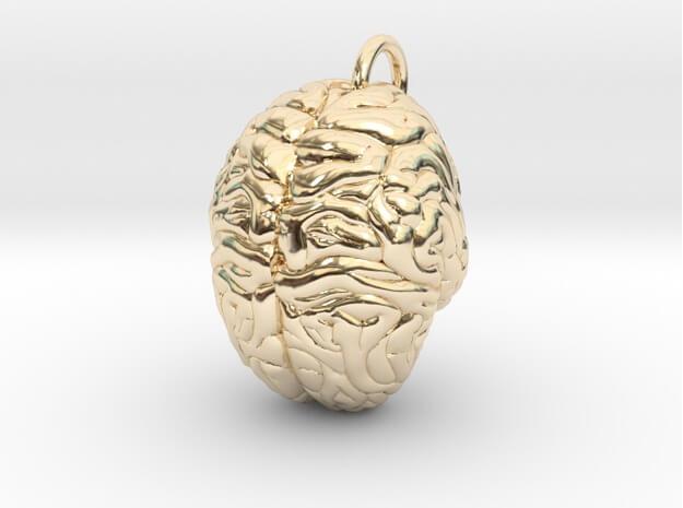3D printed Brain pendant
