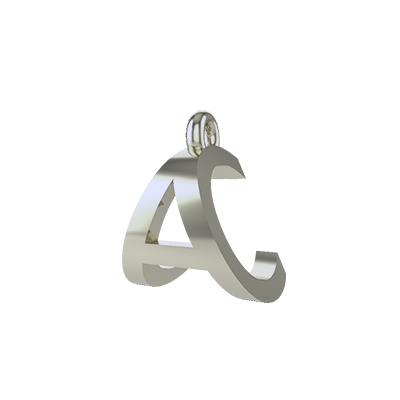 white gold pendant necklace