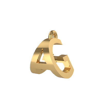 alphabet pendant necklaces