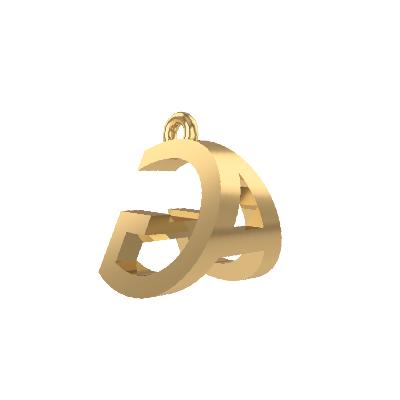 alphabet pendant jewellery