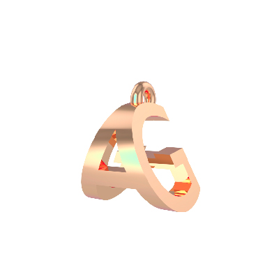 alphabet pendant designs in gold