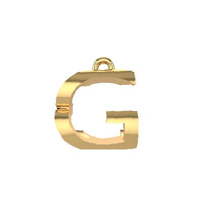 alphabet pendant necklace