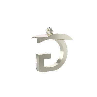 g alphabet pendant
