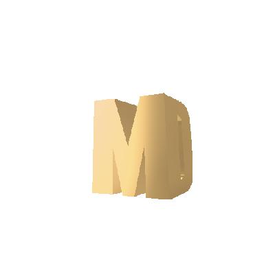 initial pendant gold